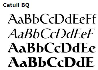Fuentes famosas de ordenador (No os vayáis a confundir) (Ya sabéis de logos y eso...) Catull-tipografia