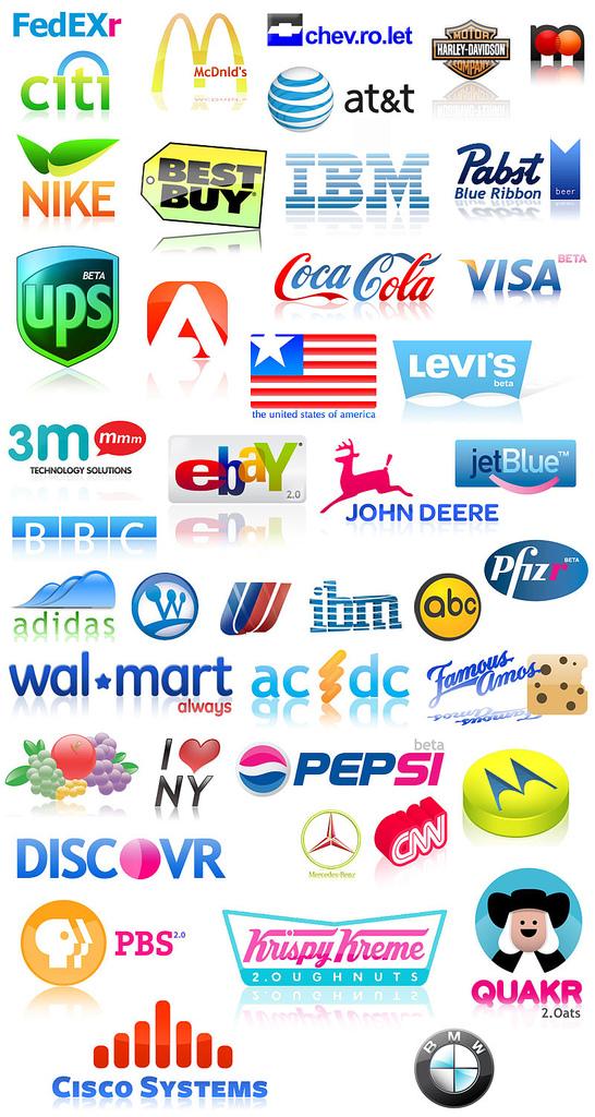 Rediseñando logos de grandes compañias | TuFuncion