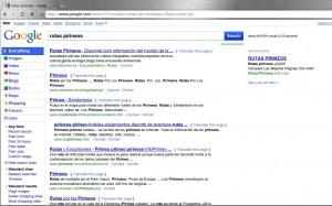 Cambios en la columna izquierda de los resultados de búsqueda de Google.