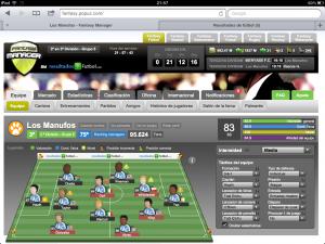 Manager online de fútbol