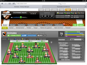 Manager online de Rugby