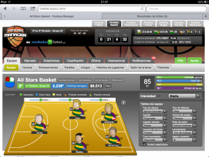 Juego online de Baloncesto