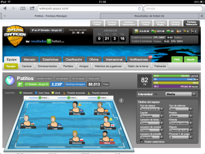 Juego online de Waterpolo