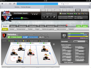 Juego online de Hockey sobre hielo