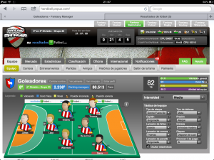 Juego online de balonmano